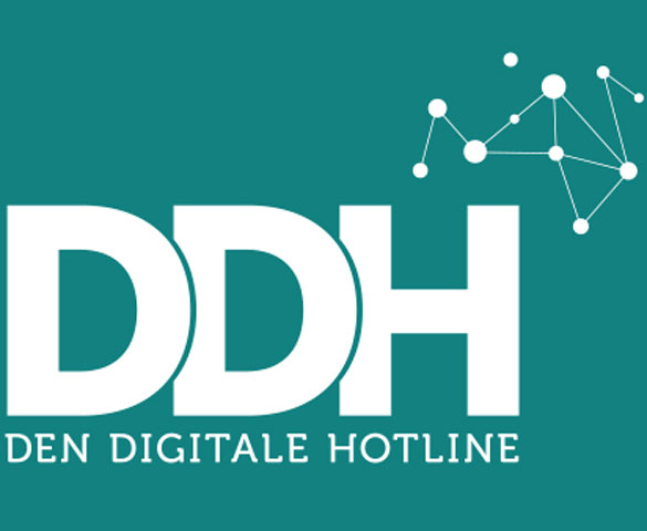 Link til information om Den Digitale Hotline