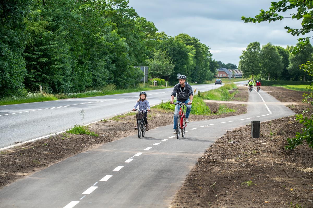 Cykelstier I Esbjerg Kommune